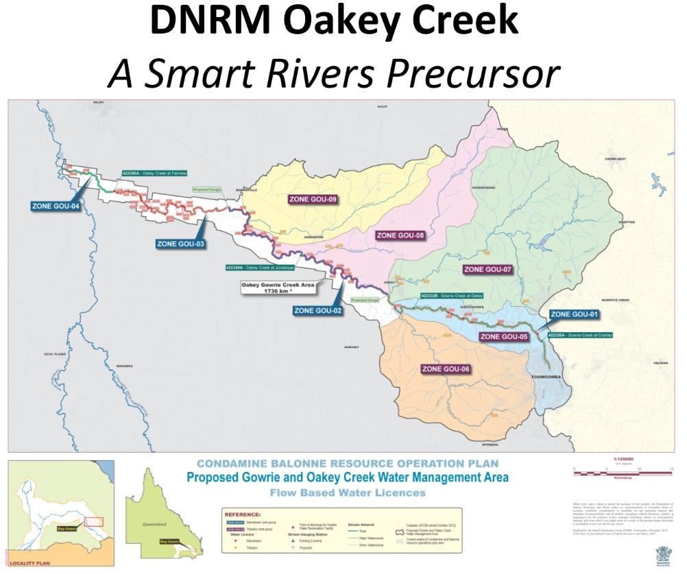 DNRM Oakey Creek - Smart River precursor