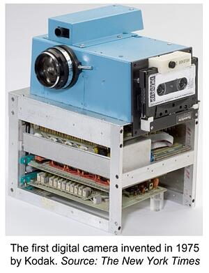 Kodak first digital camera innovation adoption-1