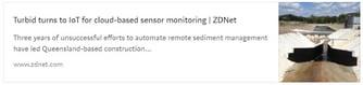 Turbid turns to IoT for cloud-based sensor monitoring - environmental cloud news