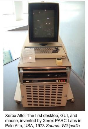 Xerox Palo Alto PARC Labs first PC desktop windows mouse innovation-1