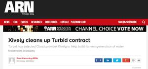 Xively Turbid Eagle.io environmental monitoring news
